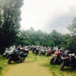 Travellers Camp 2016 parcheggio moto