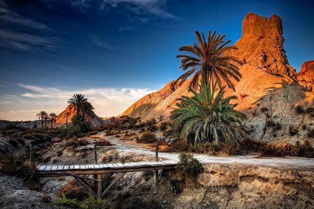 Il deserto di Tabernas Spagna
