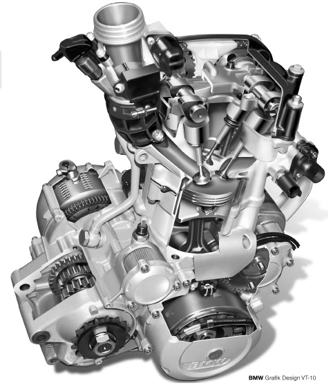 motore bmw f650gs dakar