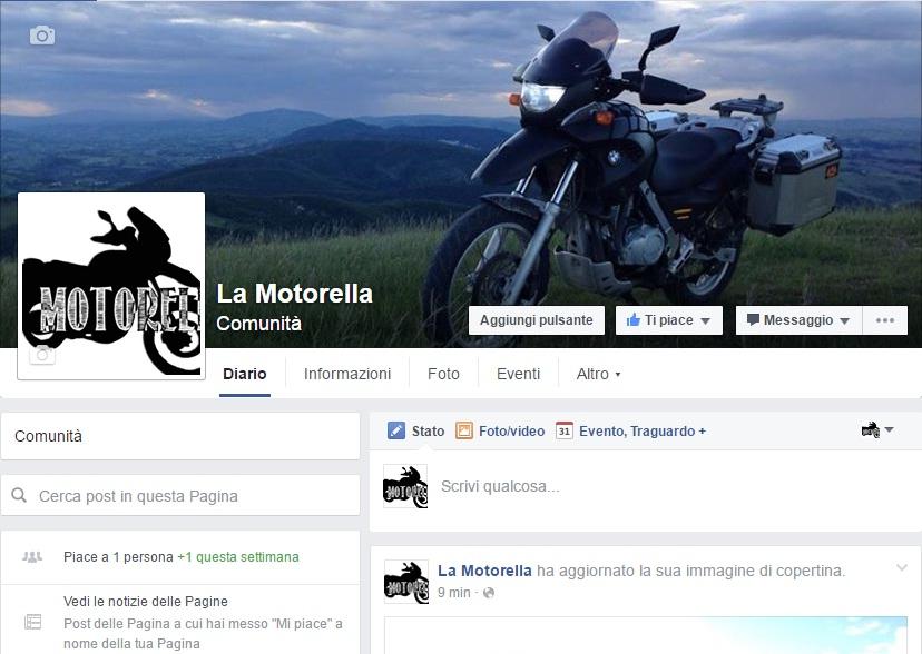 La motorella, ho aperto la pagina facebook :)