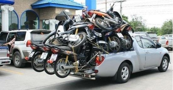 come spedire una moto
