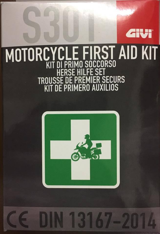 Givi First Aid Kit S301 DIN 13167