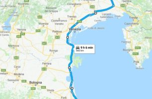 Capo Nord in Moto – Prima Tappa – Ancona Villach Austria